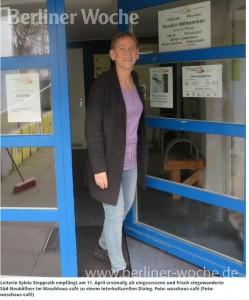 Leiterin Sylvia Stepprath empfängt am 11. April erstmalig alt eingesessene und frisch eingewanderte Süd-Neuköllner im Waschhaus-café zu einem interkulturellen Dialog. Foto: waschaus-café (Foto: waschaus-café)